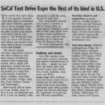 Test Drive Expo preview in Press-Telegram
